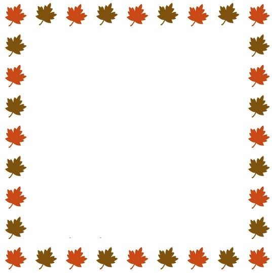 537x539 Graphics For Fall Border Graphics