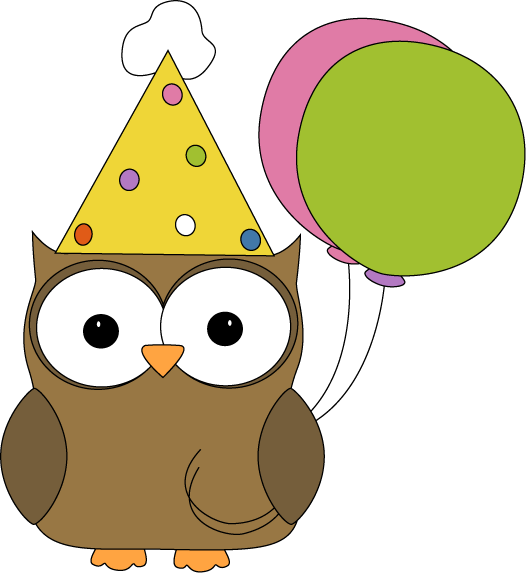 526x573 Party Owl Clip Art