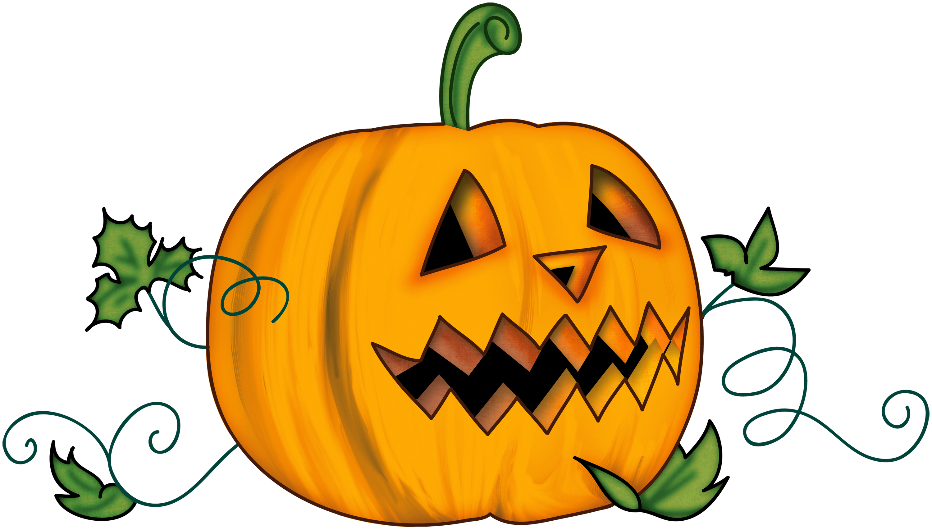 3000x1706 Pumpkin Clipart Transparent Background