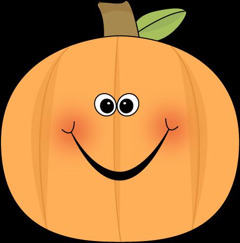 486x493 Cute Pumpkin Clip Art