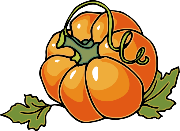 588x427 Autumn Pumpkin Clip Art Clipart Panda