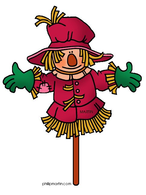 Fall Scarecrow Clipart