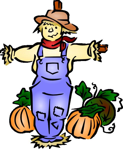 492x596 Scarecrow Clip Art