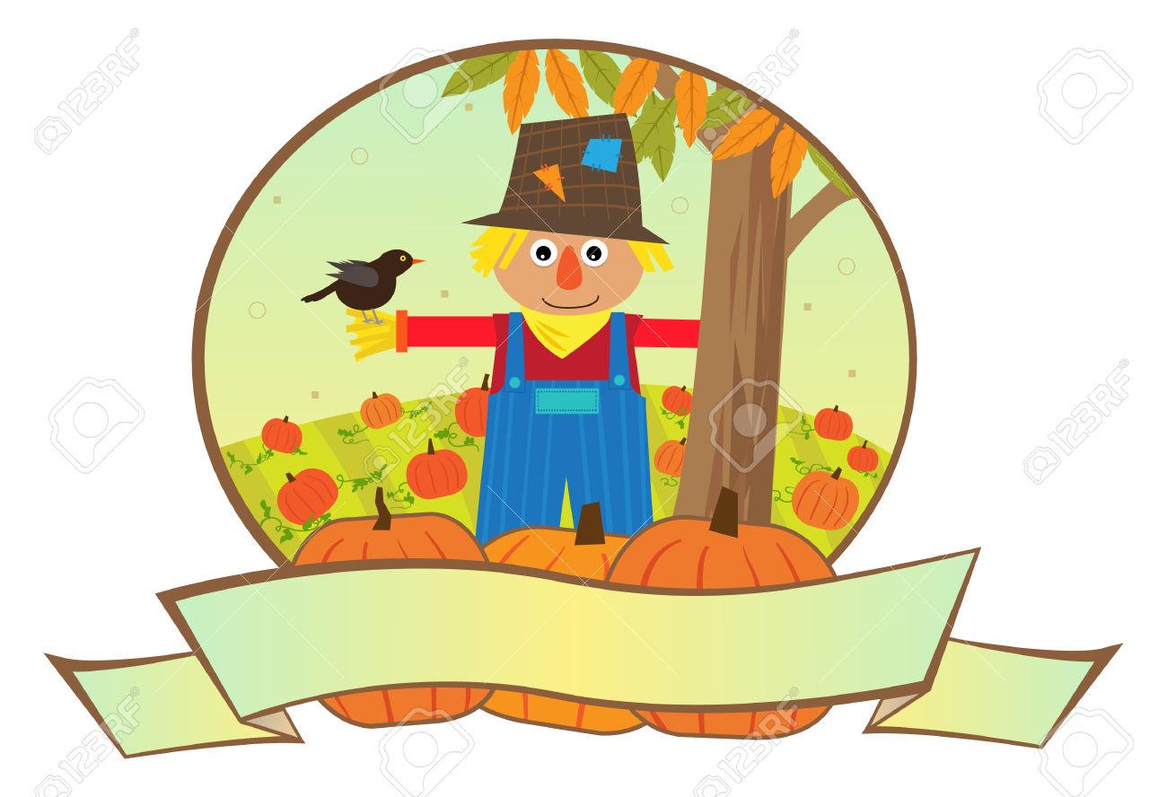 1300x888 Scarecrow Clipart Pumpkin Patch
