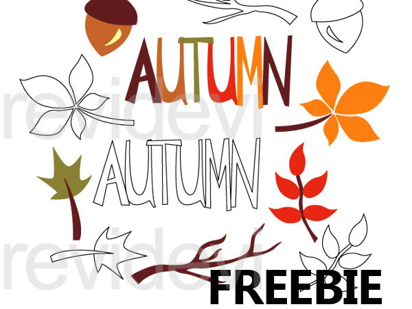 600x450 Autumn Fall Season Clip Art Free By Revidevi