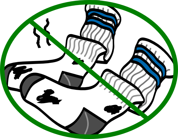 600x469 Dirty Socks Clip Art