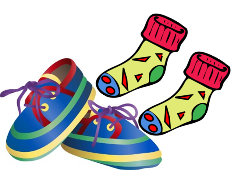 768x556 Shoe Clipart Shoe Sock