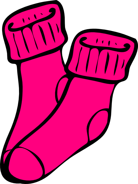 450x599 Sock Pair Clip Art