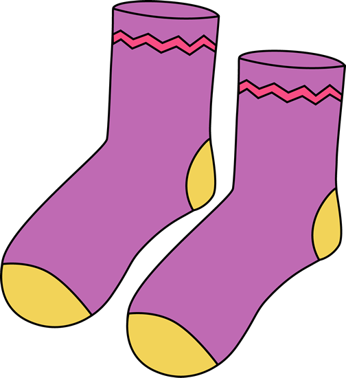 504x550 Socks Sock Clip Art