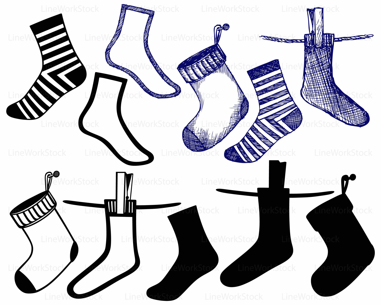3000x2400 Socks Svg,socks Clipart,socks Svg,socks Silhouette,socks Cricut