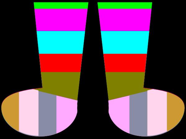 600x449 Clip Art Crazy Socks Clipart Clipart Kid 5 Image