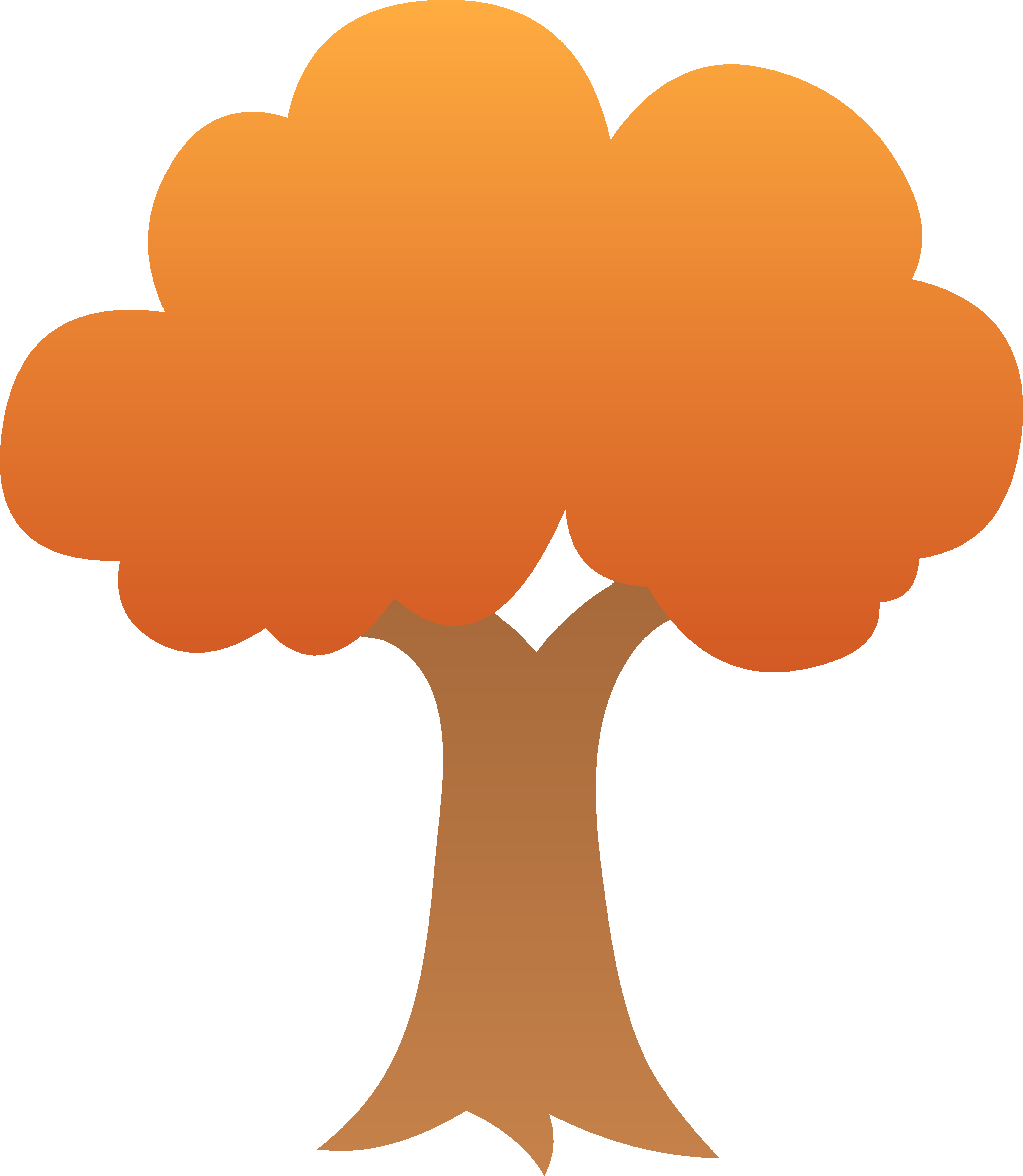 5486x6309 Cute Autumn Tree Design