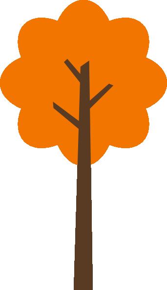 342x593 Fall Tree 1 Clip Art