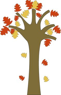 236x366 Fall Tree Clip Art Fall Trees, Clip Art And Clipart Images