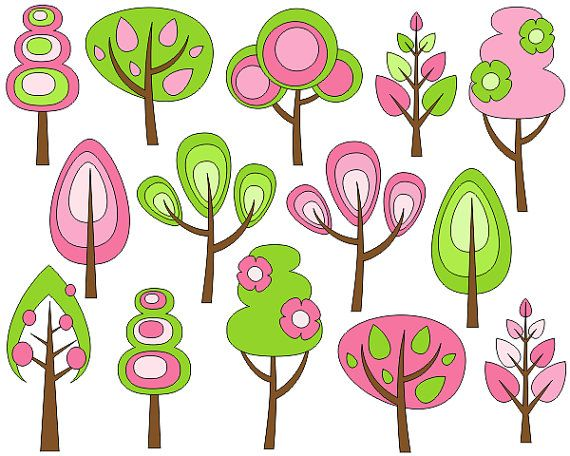 570x456 Fall Clipart Spring Tree