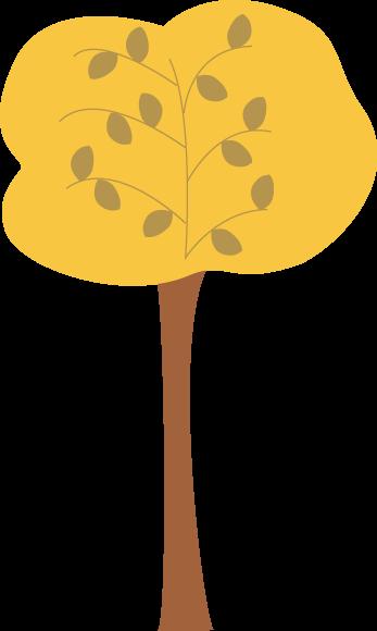 347x580 Golden Autumn Tree Clip Art