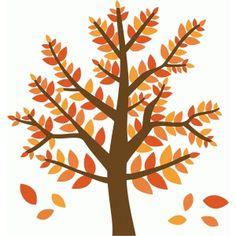 236x236 Birch Tree Silhouettes Clip Art Instant Download