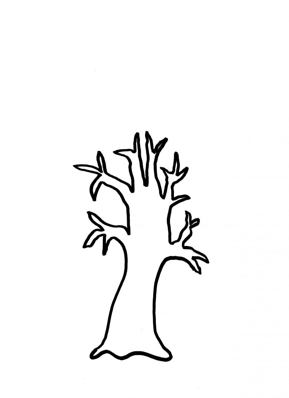 940x1293 Trunk Clipart Family Tree