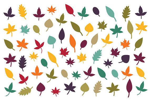 570x379 Fall Foliage Clip Art Simple Tree Leaf Silhouette Autumn Color