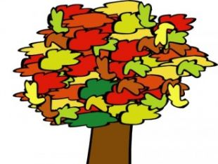 310x233 Tree With Leaves Falling Clip Art Free Vectors Ui Download