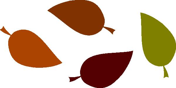 600x300 Autumn Leaf Colors Clip Art