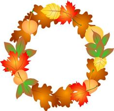 236x228 Fall Leaves Wreath Clip Art Everyday For Cards, Scrapbooking