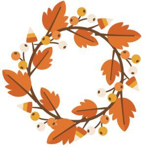 300x300 Wreath Clipart Thanksgiving