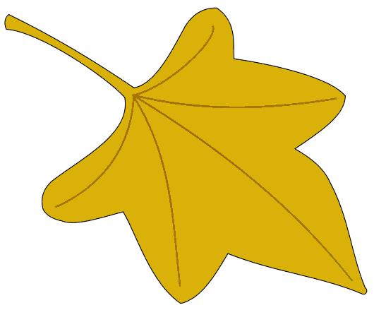 530x439 Foliage Clipart Yellow Leaf