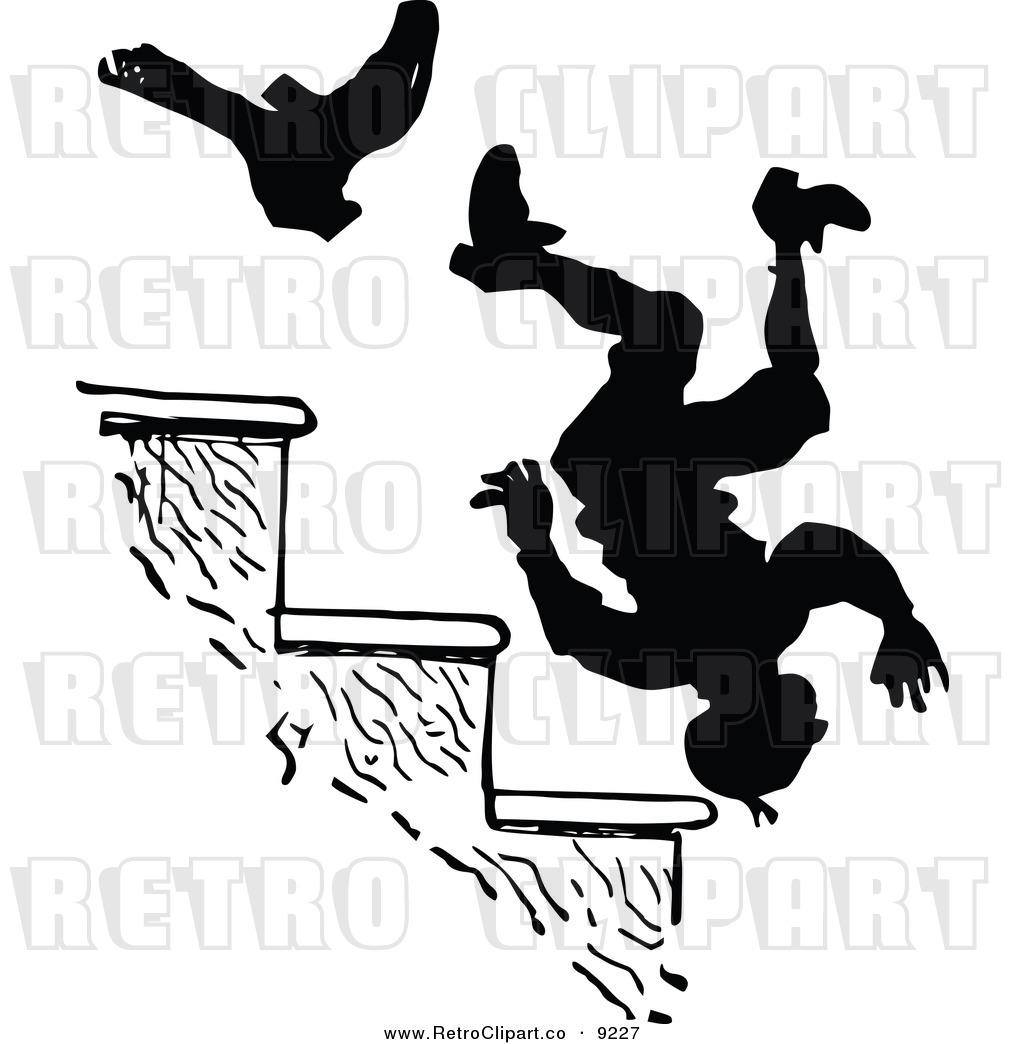 1024x1044 Fall Down Stairs Clip Art