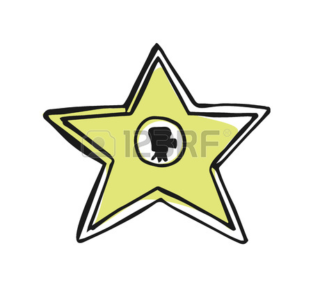 450x412 192 Walk Of Fame Star Cliparts, Stock Vector And Royalty Free Walk