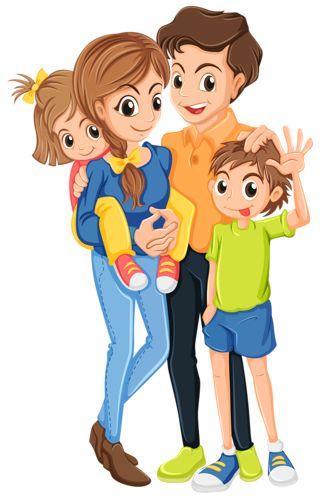 Family Animation Clipart