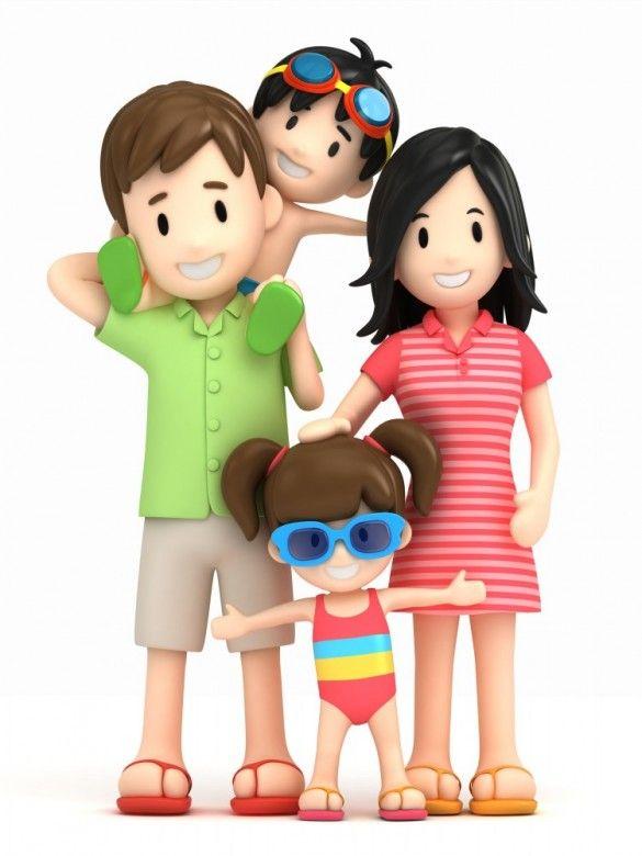 585x780 Top 83 Family Clip Art