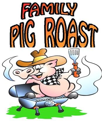 349x416 Roast Clipart Pig Bbq