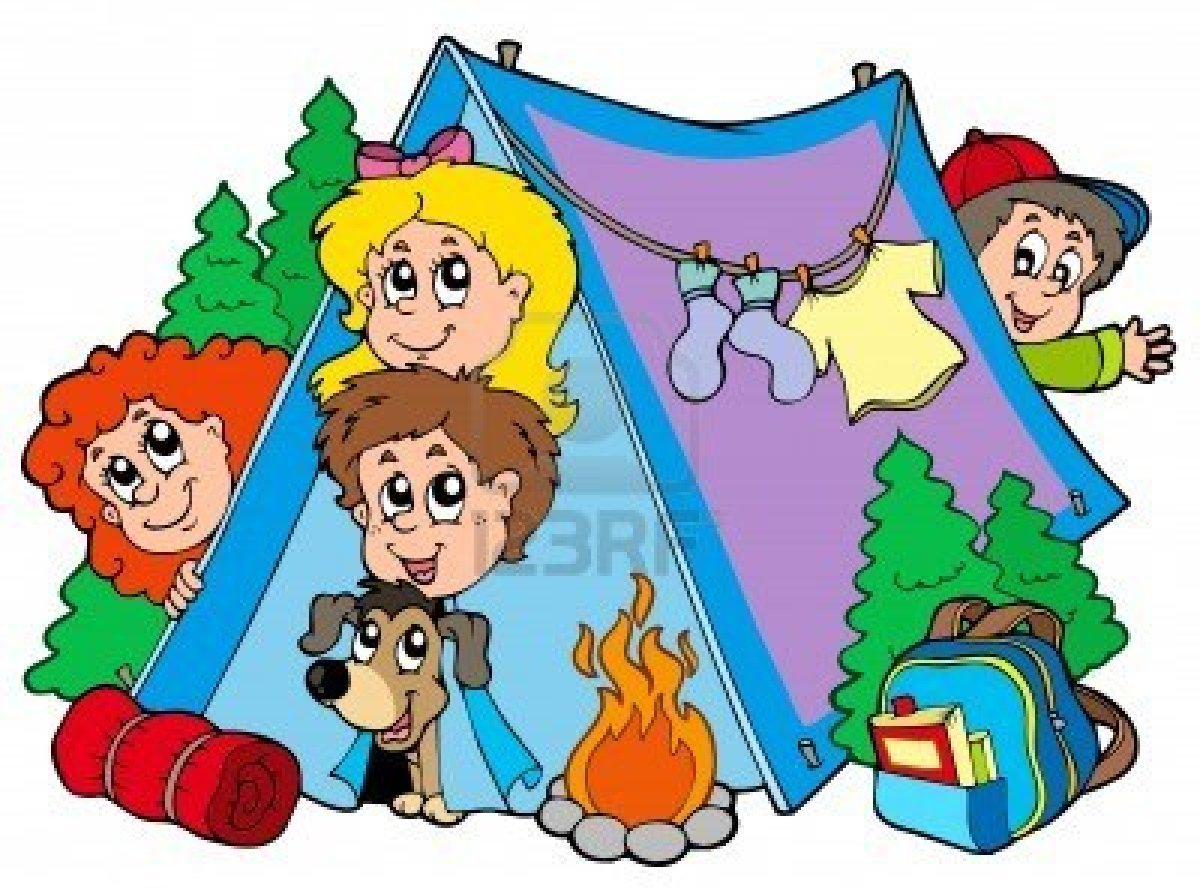 1200x888 Camping Clipart Family Activity