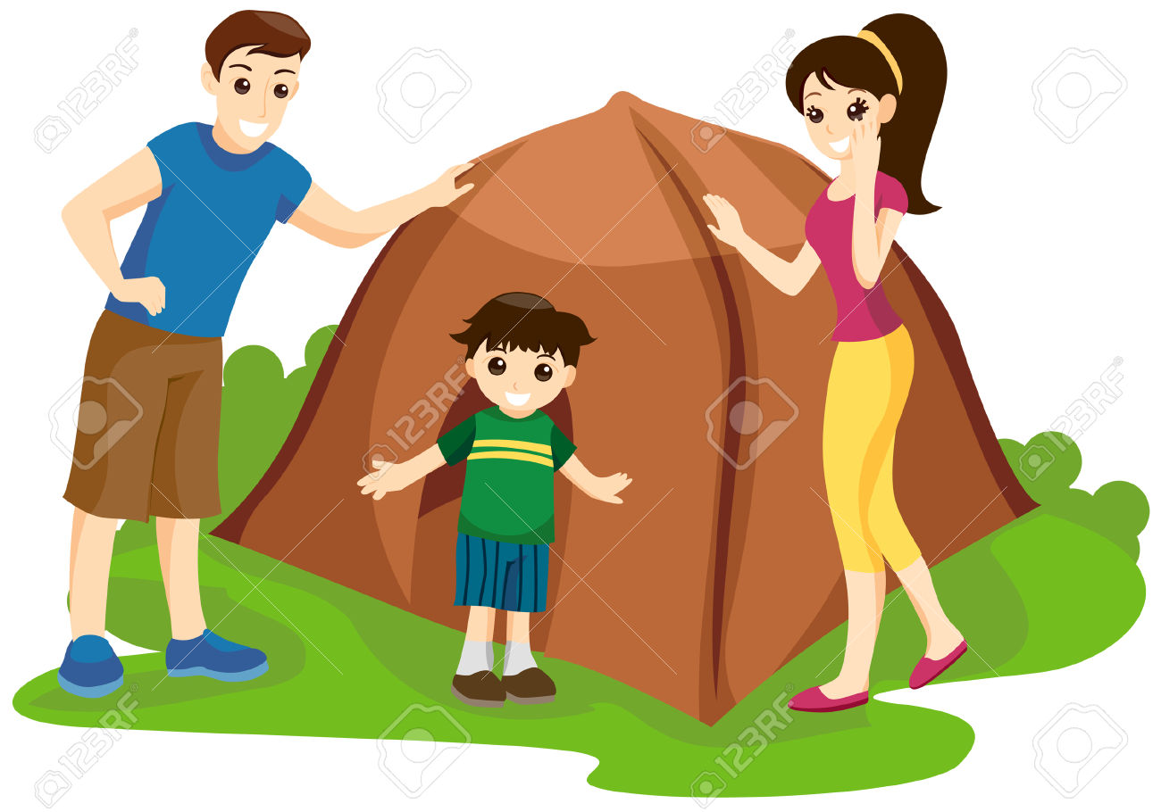 1300x910 Camping Clipart Family Camping
