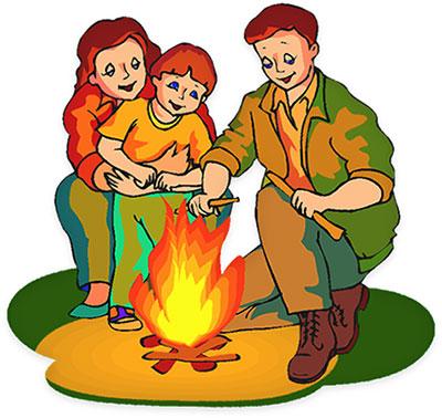 400x378 Camping Kids Camp Clip Art Clipart