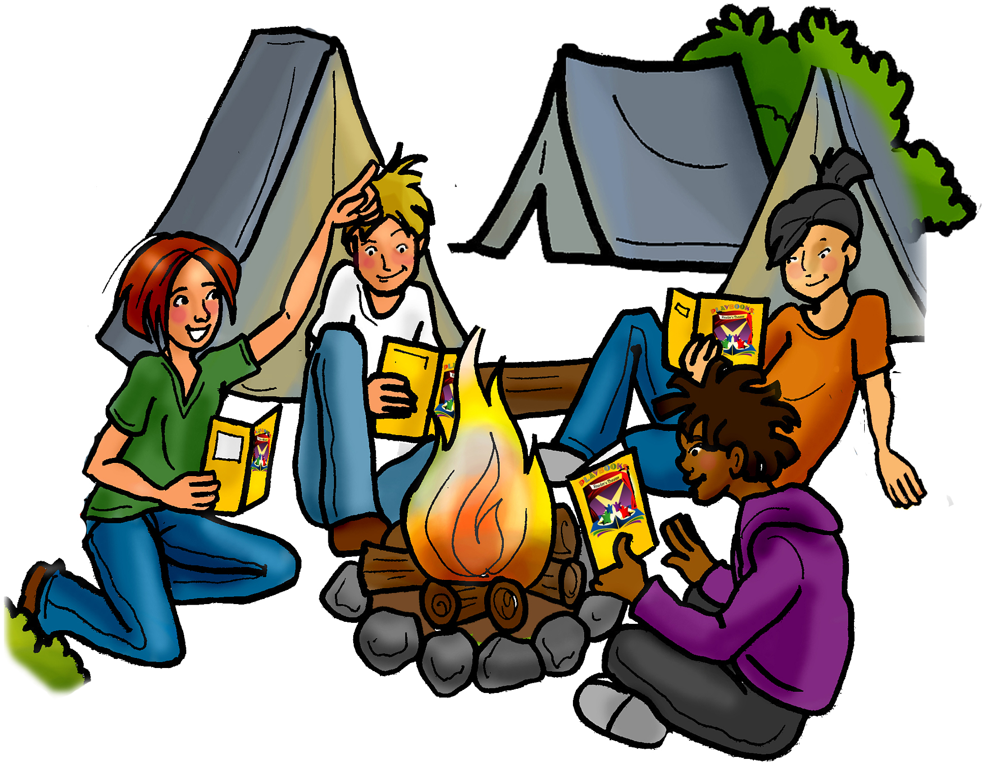 1947x1507 Camp Clipart Family Camping