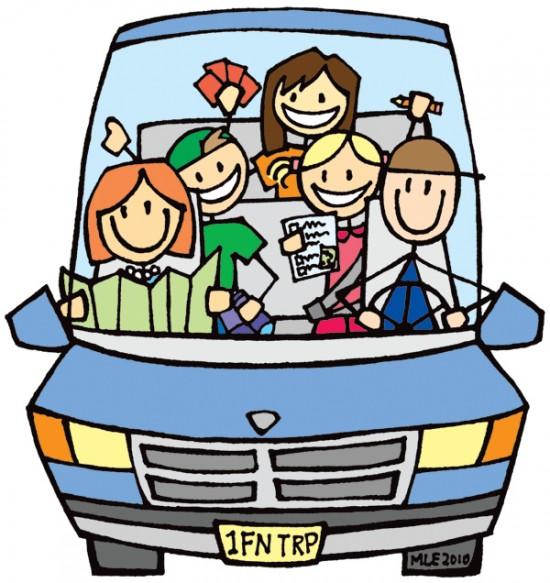 550x583 Family Cars Cliparts 207623