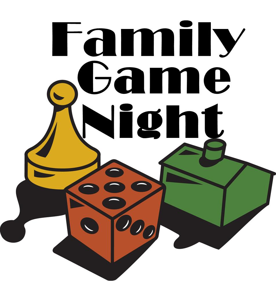 953x970 Family Game Night Clip Art