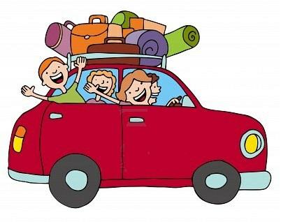 402x318 Travel Clipart Family Car
