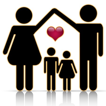 450x450 Happy Family Clip Art Oregon Family Support Network
