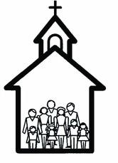 166x229 Church Clipart Black And White