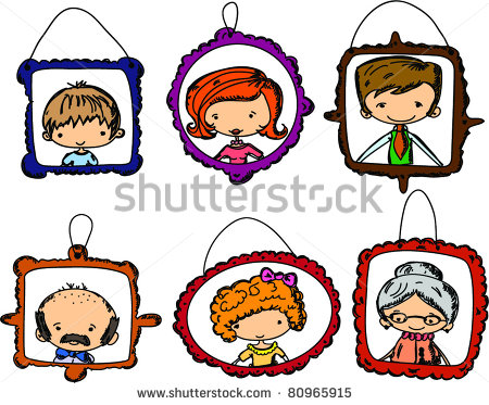 450x373 Portrait Clipart My Family