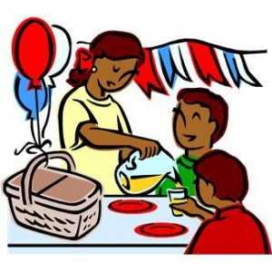 300x300 America Clipart Cookout