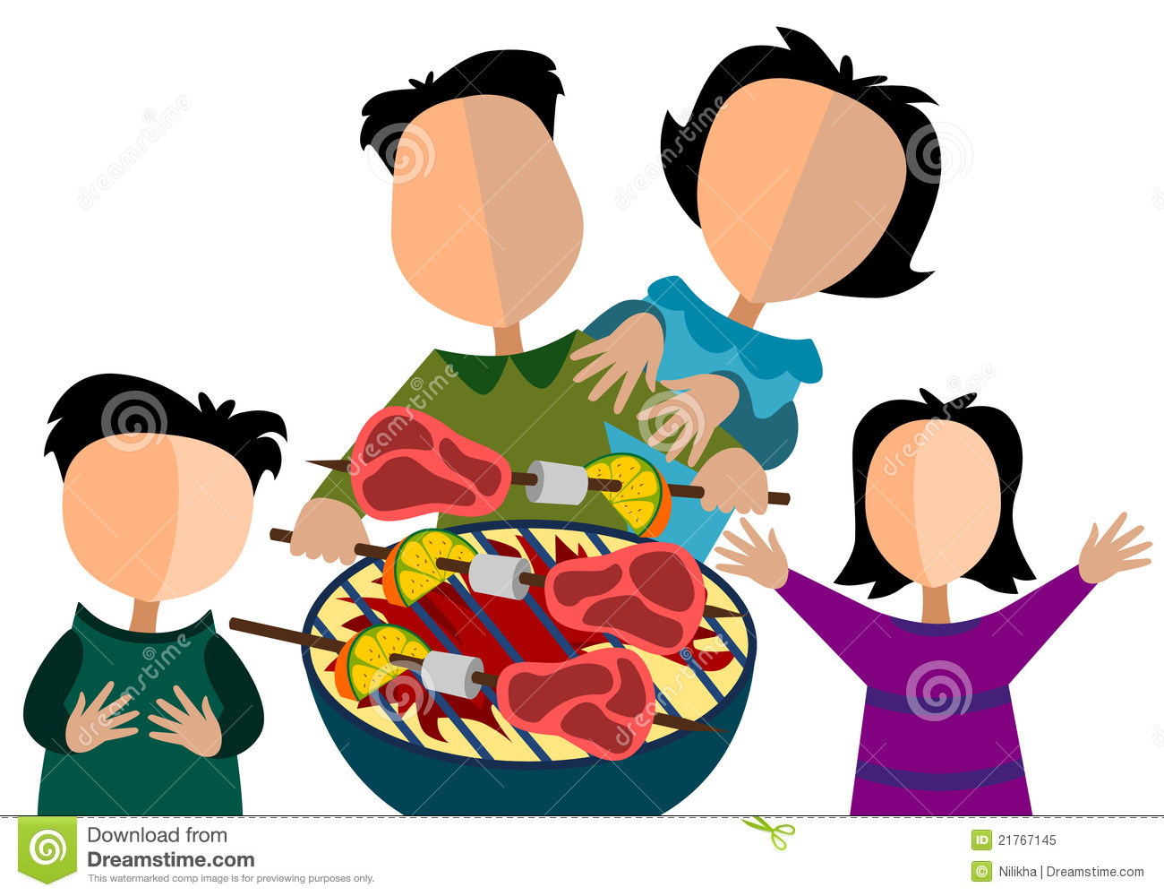 1300x1000 Family Meal Clipart