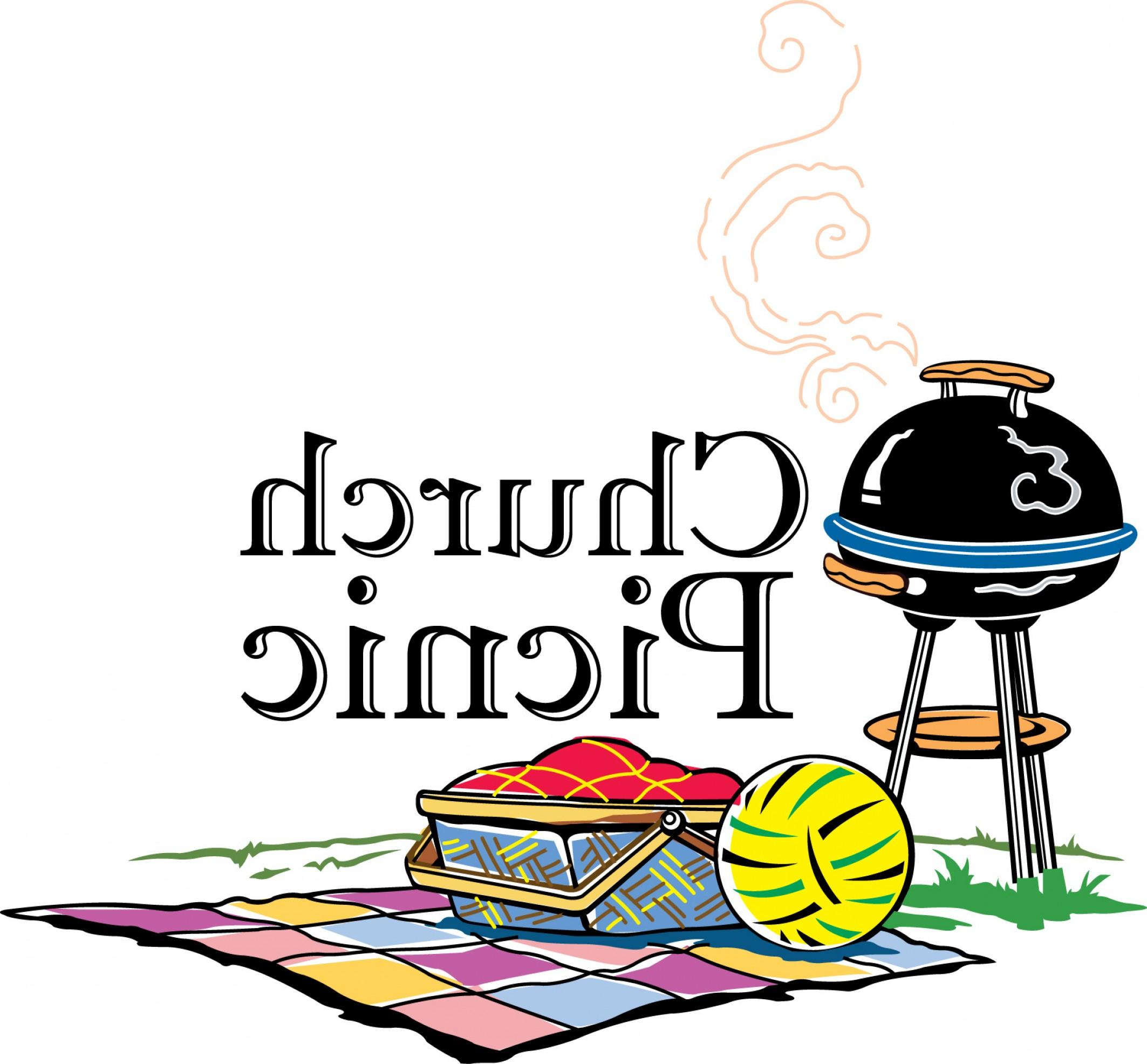 2126x1972 Black Family Bbq Clipart Picnic Table Bbq Grill Clipart Vector