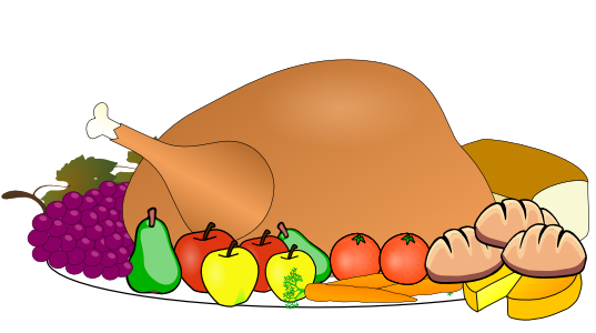 537x300 Thanksgiving Dinner Clip Art