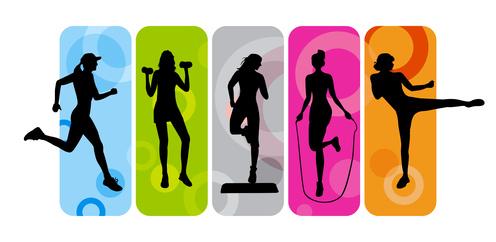 496x242 Fitness Clip Art Cartoon Free Clipart Images Clipartix