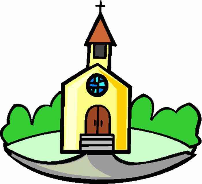 700x636 Old Church Clipart