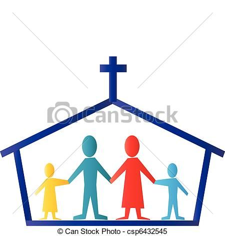 Family Going To Church Clipart Free Download Best Family Going To